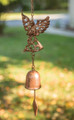 WINDCHIMES - GUARDIAN ANGEL WIND CHIME - CAST IRON - GARDEN DECOR