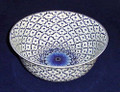 """GRAND PALACE"" BLUE & WHITE PORCELAIN CENTERPIECE BOWL"