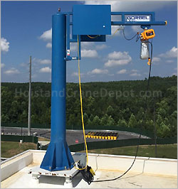 Jib Crane and Hoist