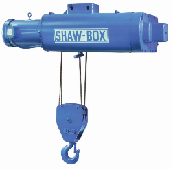 Shaw-Box 700 Series Wire Rope Hoist Parts Size 2 replacement parts