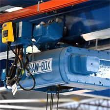 Wire Rope Hoist Install