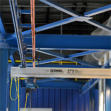 Gantry Gorbel Crane Workstation