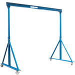 Adjustable Gorbel 2 ton Steel Gantry Crane 10 feet span Workstation