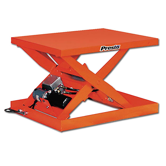 Presto XS Electric Scissor Lift Table light duty