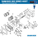 Shawbox 800 Bolt, Hex Head-LT880 (LT880) part