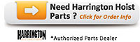 harrington hoist parts