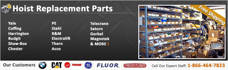 Hoist Parts for Industrial Hoist Systems