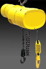 Electric Powered Chain Hoists Suppliers | Hoist and Crane Depot