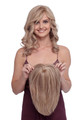 TP5001 Toppiece Mono Human Hair 1/2 Wig Hairpiece by Louis Ferre