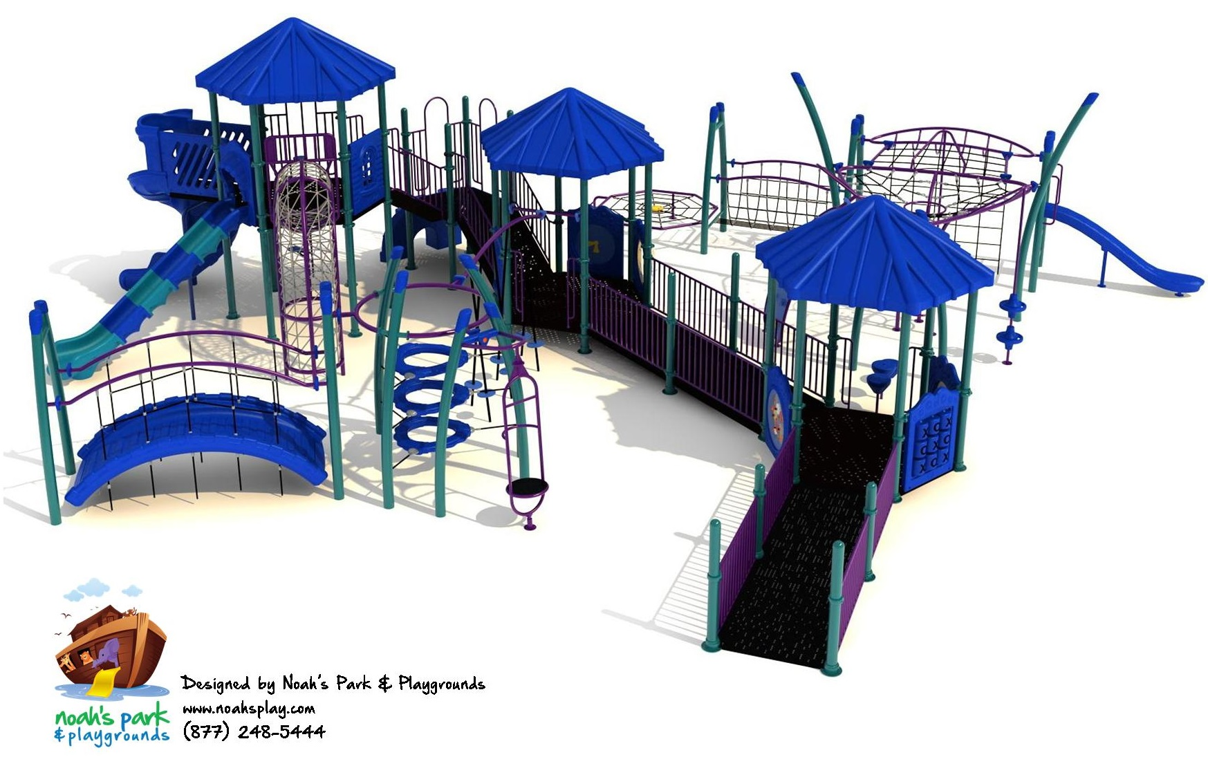 Noah's Park and Playgrounds Chosen to Design and Install Six New ...