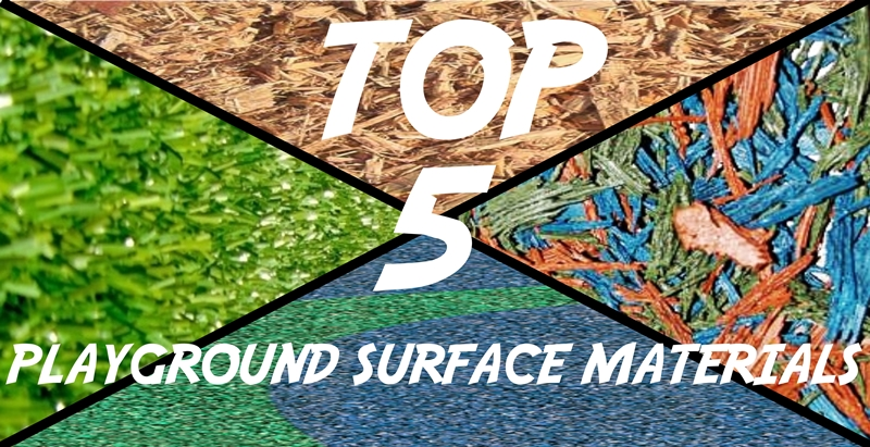 Top 5 Playground Surface Materials Noahs Park And