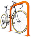 High security, Superior bike support, Freestanding rail mount available