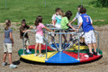 Its multi-color platform will add fun to any playground
