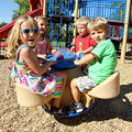 4-Seat Teeter with Bubble Panel is a blast!