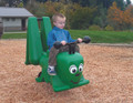 Hop into the fun with the Gallagher the Grasshopper