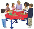 With both dry bins and water trays, your children can enjoy all types of learning!