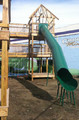 The American Playground tube slides are perfect for any outdoor play