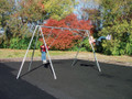 Item # 581-2208 2-Bay Primary Tripod Swing = 2 Seats You can add up to 4 additional Bays for a total of 10 swing seats