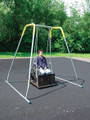 The Swing Platform can be used with the Sportsplay Swing Frame