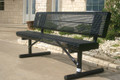 6' Rolled Bench w/ Back (Portable mount)