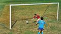 The Portable Steel Soccer Goal