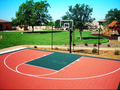 Competitor 30x45 Basketball Court