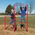 The Stall Bar Fence is a great addition to your playground!