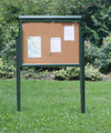 The Large, 1-Sided Outdoor Message Board is perfect for many locations.