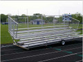 The Transportable Bleachers make it easy to move from one area to another!