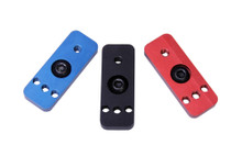 Briley 3 Gun Stage Saver Adapter available in three colors: black, blue and red.  It is designed to adapt standard extra shell holders to M-Lok attachment for use on any M-Lok surface, such as the Briley 3 Gun M-Lok Handguard and the Magpul SGA forend.