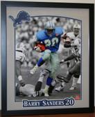 Barry Sanders Detroit Lions NFL Autographed 16x20 Framed Photo