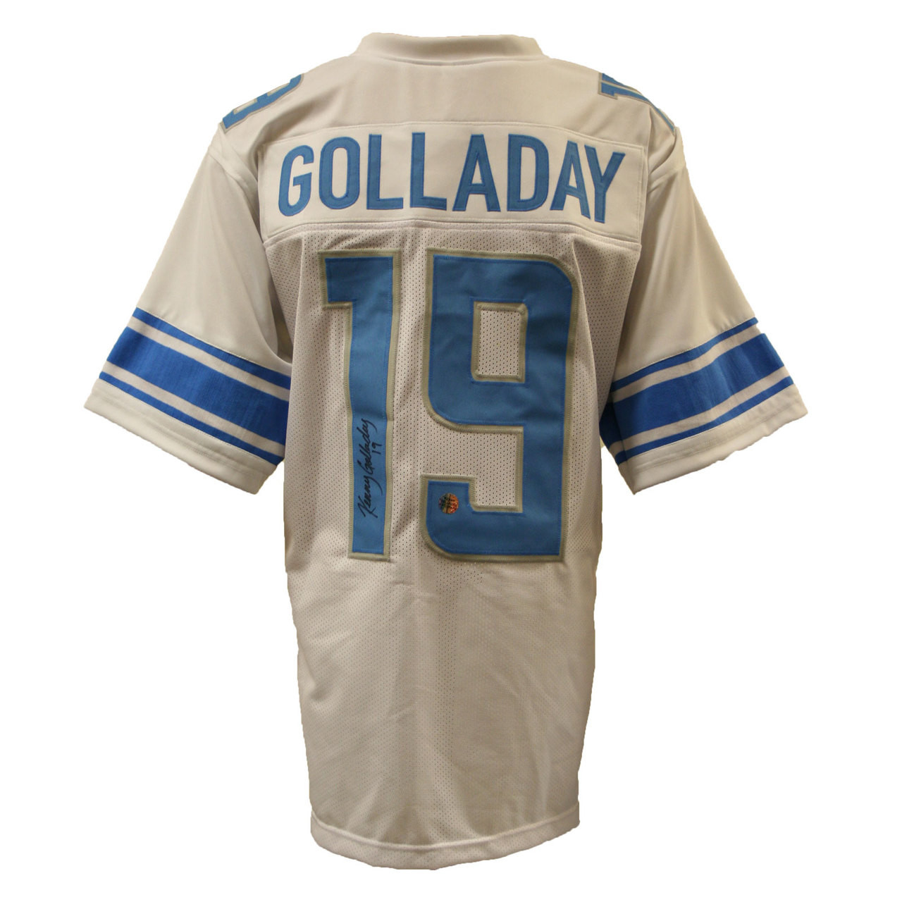 online retailer 431c1 36ee9 Kenny Golladay Autographed Custom White Football Jersey