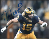 Chase Winovich Auto U of M Michigan Wolverines 8x10 Photo ~ Signed Certified