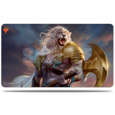 Ultra Pro Playmat MTG Core Set 2020 – V1 `Ajani Strength of the Pride` - Magic The Gathering