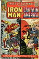 CAPTAIN AMERICA -ORIGIN OF THE RED SKULL - (1965 ) TALES OF SUSPENSE #66  FN+