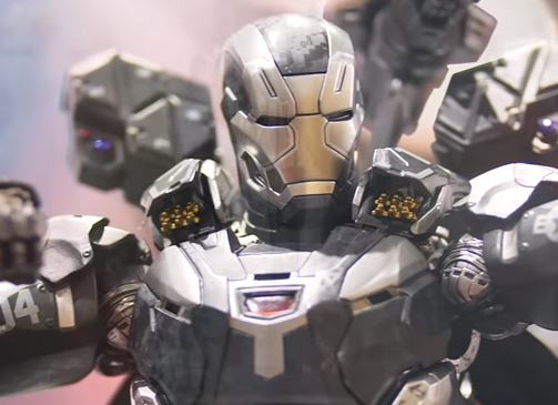 WAR MACHINE HOT TOYS MARK IV DIECAST SIXTH SCALE FIGURE- MMS AVENGERS  INFINITY WAR
