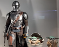STAR WARS THE MANDALORIAN AND CHILD DELUXE (YODA) - HOT TOYS FIGURE -TVMS