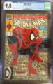 SPIDER-MAN #1 -GREEN COVER - MCFARLANE CGC 9.8