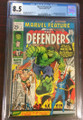 MARVEL FEATURE #1  (MARVEL, 1971) 1ST DEFENDERS CGC 8.5