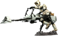 STAR WARS SCOUT TROOPER AND SPEEDER BIKE; THE MANDALORIAN  - HOT TOYS FIGURE -TVMS