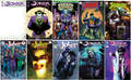 JOKER 80TH ANNIVERSARY 100 PAGE SPECTACULAR --(PUNCHLINE'S ORIGIN) LOT OF 10 COVERS