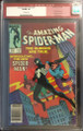 AMAZING SPIDER-MAN #252 1ST BLACK COSTUME CGC 9.0 -GRADED IN CGC'S 1ST YEAR !