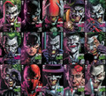 BATMAN: THREE JOKERS #1,2 & 3 (DC,2020) - LOT OF 15 PREMIUM & REG COVERS