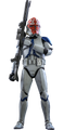 STAR WARS 501st BATTALION DELUXE - HOT TOYS FIGURE -THE CLONE WARS TVS