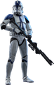 STAR WARS 501st BATTALION REGULAR - HOT TOYS FIGURE -THE CLONE WARS TVS