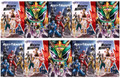 MIGHTY MORPHIN #1 (BOOM,2020,POWER RANGERS) INHYUK LEE LOT / 10 COVERS