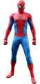 SPIDERMAN CLASSIC SUIT HOT TOYS SIXTH SCALE FIGURE- MARVEL'S VGM