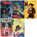 SILK #1 (MARVEL,2021,JEEHYUNG LEE) LOT OF 5 MAIN & VARIANT COVER SET  NM