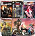 STAR WARS WAR BOUNTY HUNTERS  #1 (2021,MARVEL) LOT 5 REG & VARIANT COVERS