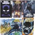 BLACK PANTHER #1 (2021)  NM LOT SET OF 5 COPIES